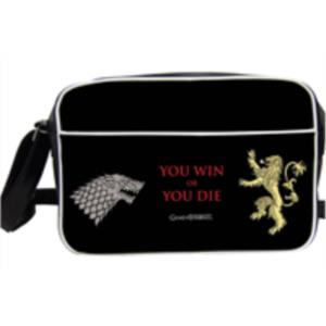 BOLSO BANDOLERA YOU WIN OR YOU DIE JUEGO DE TRONOS