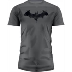 CAMISETA GRIS CHICO T-L LOGO BATMAN GRAPHICS DC COMICS