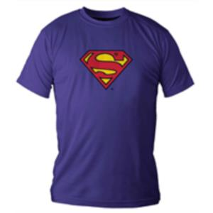 CAMISETA AZUL CHICO T-M SUPERMAN DC COMICS