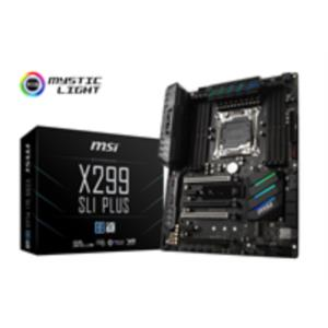 PLACA INTEL CORE X MSI X299 SLI PLUS SK2066 DDR4 PCX3.0 ATX