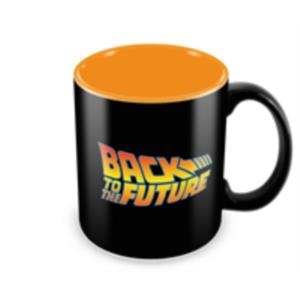 TAZA CERAMICA BACK TO THE FUTURE LOGO REGRESO AL FUTURO