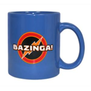 TAZA CERAMICA BAZINGA AZUL THE BIG BANG THEORY