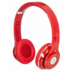AURICULARES BLUETOOTH NETWAY SPACE ROJO