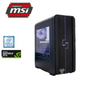 ORDENADOR MSI ESPORTS i3-7100 3,6GHz/8GB DDR4/1TB/MSI GEFORCE GTX 1050 TI 4GT 4GB
