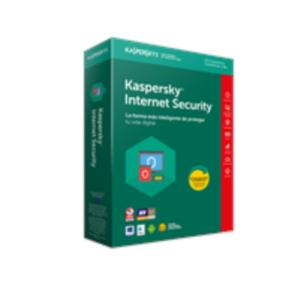 ANTIVIRUS KASPERSKY INTERNET SECURITY 10 USUARIOS PARA PC, MAC Y DISPOSITIVOS MOVILES