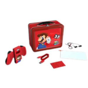 KIT DE ACCESORIOS POWER A LUNCHBOX KIT SUPER MARIO ODYSSEY PARA SWITCH