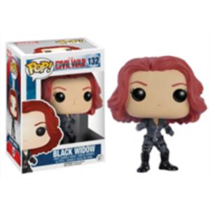 POP - CAPTAIN AMERICA CIVIL WAR  BLACK WIDOW